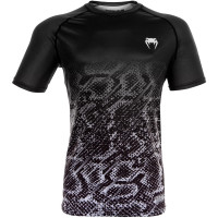 Футболка venum tropical dry tech t-shirt - black/grey
