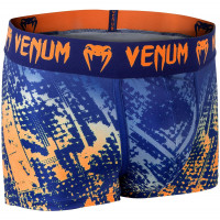 Трусы VENUM TROPICAL BOXER SHORTS-BLUE/ORANGE