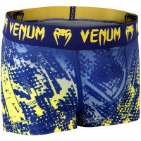 Трусы venum tropical boxer shorts - blue/yellow
