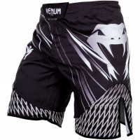 Шорты venum shockwave fightshorts - black/grey
