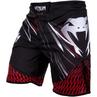 Шорты venum shockwave fightshorts - black/red