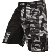 Шорты venum speed camo urban fightshorts - black