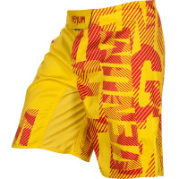 Шорты venum speed camo fightshort - acid yellow
