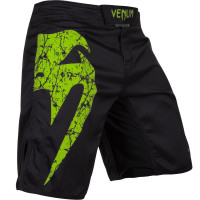 Шорты venum original giant fightshort - black/yellow