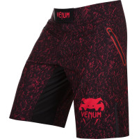 Шорты venum noise fightshort - black/red