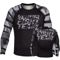 Рашгард venum speed camo urban rashguard long sleeve - black