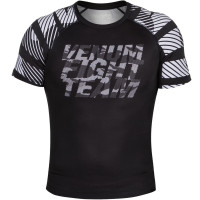 Рашгард короткий рукав VENUM SPEED CAMO URBAN RASHGUARD SHORT SLEEVE - BLACK