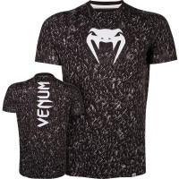 Футболка venum noise dry tech - black/ice