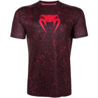 Футболка venum noise dry tech - black/red