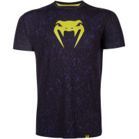Футболка VENUM NOISE DRY TECH - BLACK/YELLOW