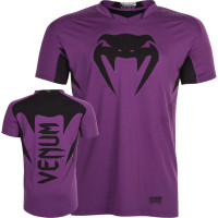 Футболка venum hurricane x-fit t-shirt - purple/black