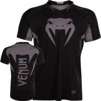 Футболка VENUM HURRICANE X FIT T-SHIRT - BLACK/MATTE