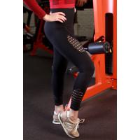 Легинсы bethorn fitness black btnl20