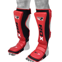 Щитки RDX MMA Cow Hide Leather Shin Insteps