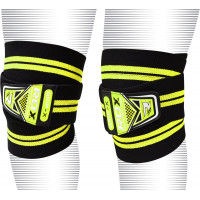 Бинты для колен RDX Knee Wraps Weight Lifting Bandage Straps