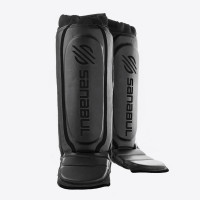 Защита голени sanabul essential hybrid shin guards black black