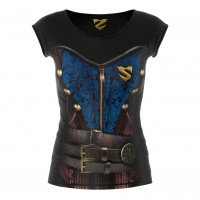 Рашгард woman short smmash cross wear steampunk