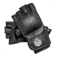 Перчатки для mma ultimatum reload black с защитой большого пальца