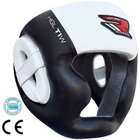 Шлем RDX Zero Impact Leather Head Guard