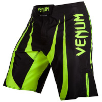 Шорты venum predator x - black/neo yellow