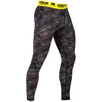 Компрессионные штаны VENUM TROPICAL SPATS-BLUE/YELLOW