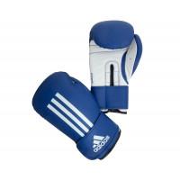 Перчатки боксерские energy 100 blue/white adiebg100