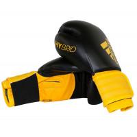 Перчатки боксерские Adidas Hybrid 100 black/yellow