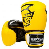 Боксерские перчатки Pretorian yellow/black