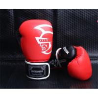 Боксерские перчатки pretorian red/black