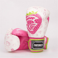 Боксерские перчатки 2016 Pretorian New Hot Boxing Gloves White/pink