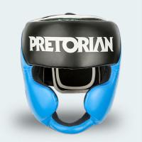 Шлем боксерский Pretorian Black Red