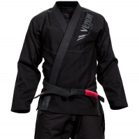 Кимоно для бжж venum elite bjj gi - black/black