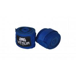 Бинты Venum 4 метра синий