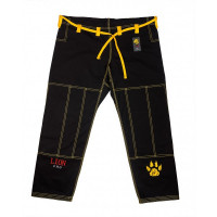 Штаны для gi bjj lion pro - black