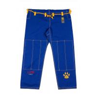 Штаны для gi bjj lion pro - blue
