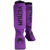 Защита ног shin guards insteps venum kontact - purple