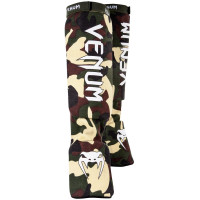 Защита ног shin guards insteps venum kontact - forest camo