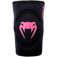 Наколенник Venum Kontact Gel Knee Pad - Black Neo Pink