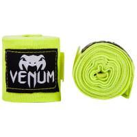 Бинты для mma venum kontact boxing handwraps 2,5m neo yellow