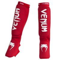 Защита ног Shin Guards & insteps Venum Kontact - Red