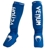 Защита ног shin guards insteps venum kontact - bue