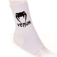 Суппорты venum ankle support guard - muay thai kick boxing white