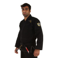 Кимоно для бжж kingz nano jiu jitsu gi - black