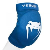 Налокотники venum kontact elbow protector - cotton blue (пара)