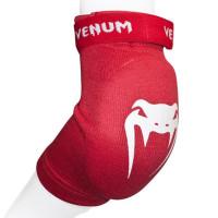 Налокотники venum kontact elbow protector - cotton red (пара)