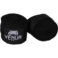 Бинты venum 2,5 метра черный
