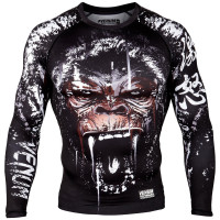 Рашгард Venum Gorilla Rashguard - Long Sleeves - Black
