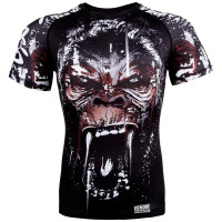 Рашгард venum gorilla rashguard - short sleeves - black