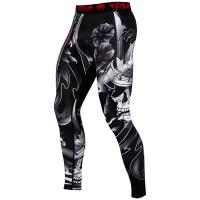 Компрессионные штаны venum samurai - black