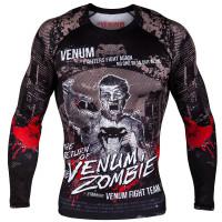 Рашгард venum zombie return long sleeves - black